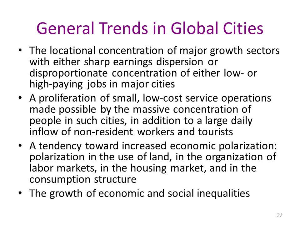 General Trends in Global Cities