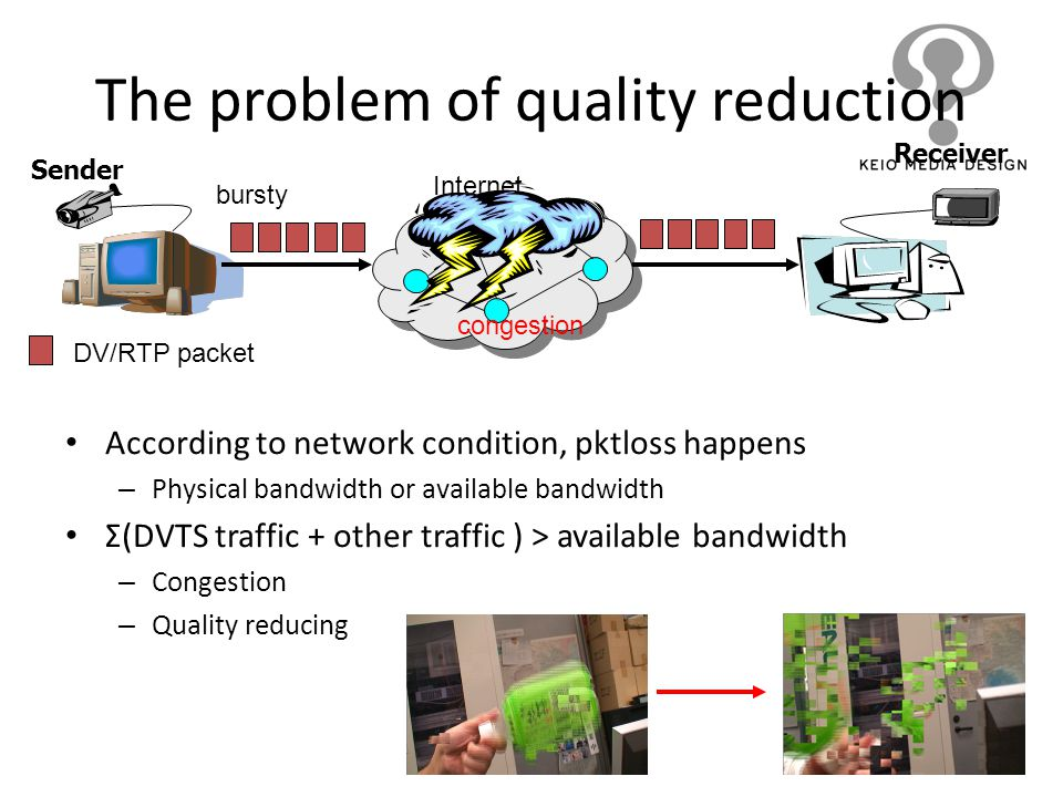 The problem of quality reduction