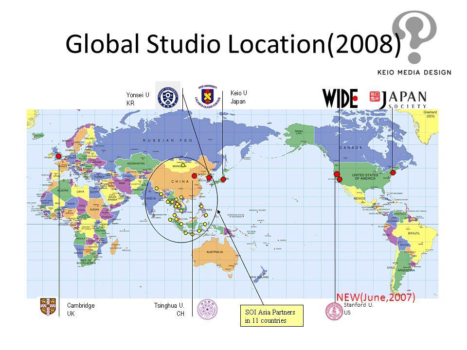 Global Studio Location(2008)