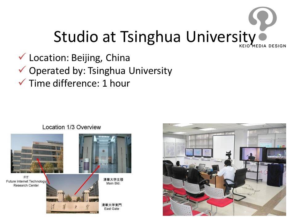Studio at Tsinghua University