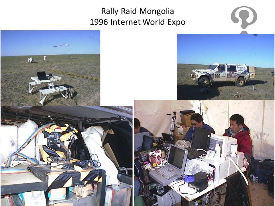 Rally Raid Mongolia 1996 Internet World Expo
