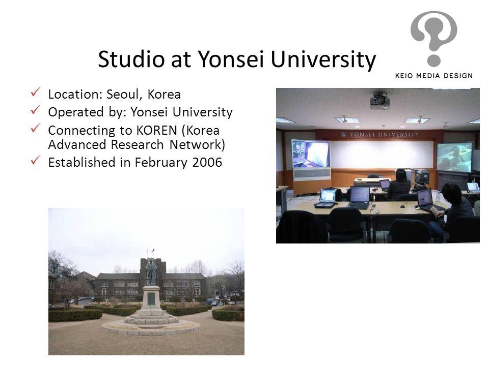 Studio at Yonsei University
