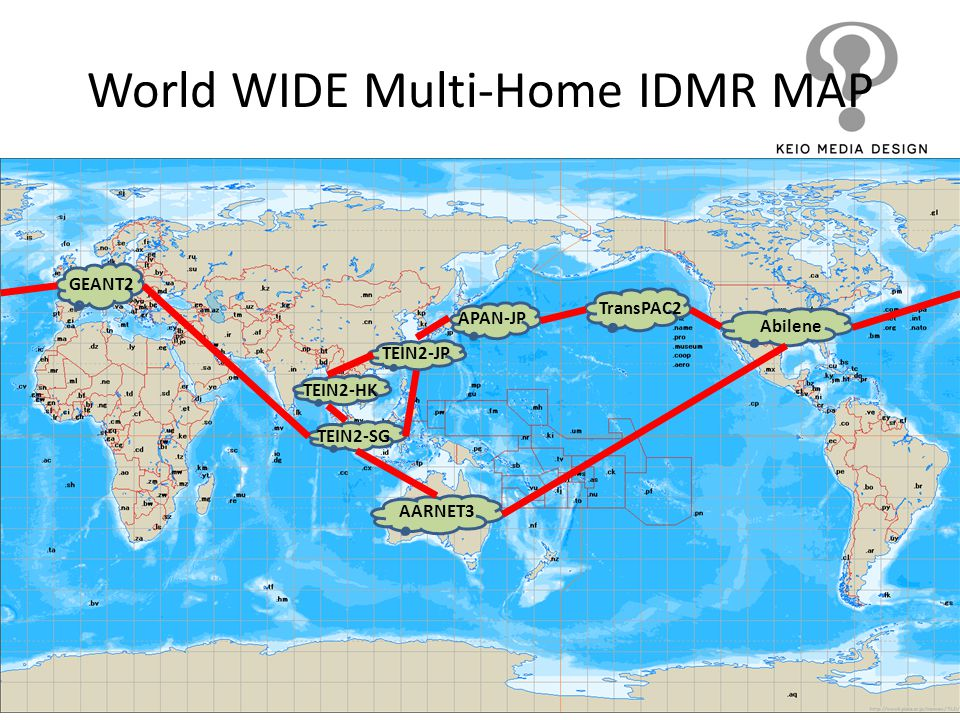 World WIDE Multi-Home IDMR MAP