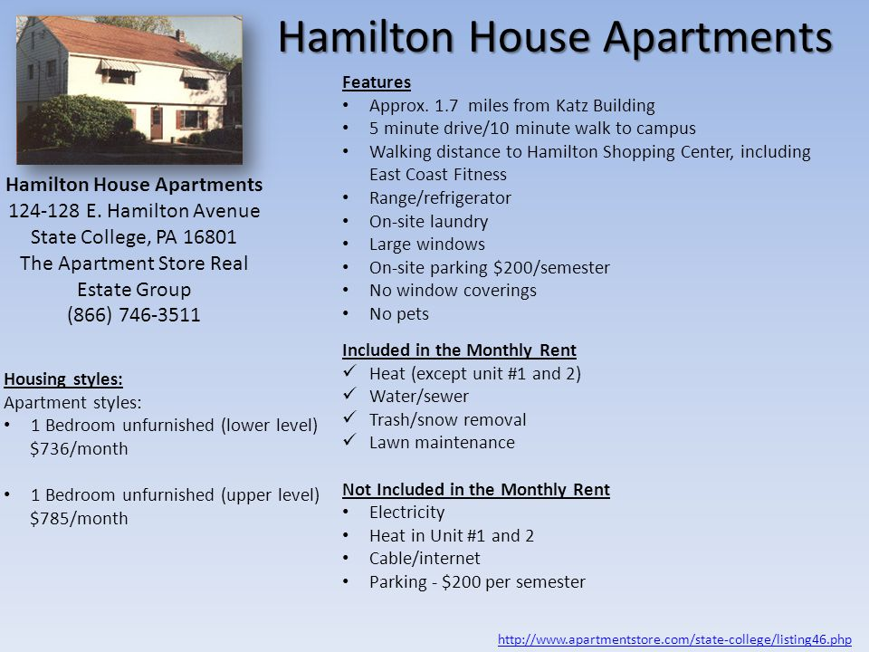 Hamilton House Apartments