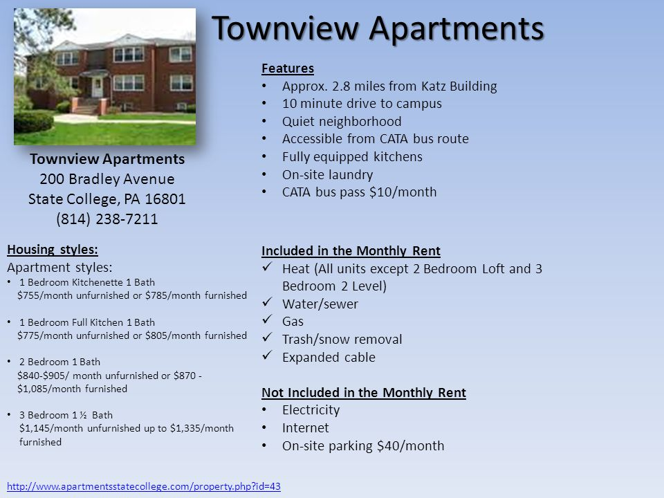 Townview Apartments Townview Apartments 200 Bradley Avenue