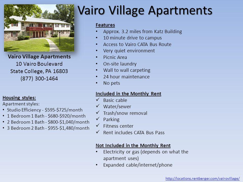 Vairo Village Apartments