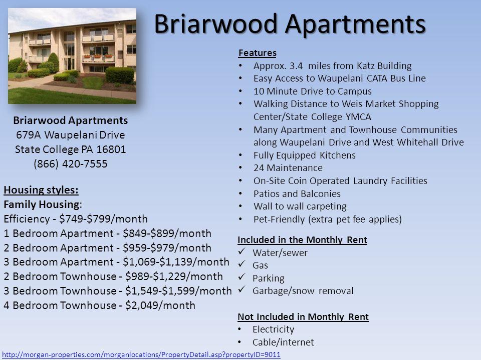 Briarwood Apartments Briarwood Apartments 679A Waupelani Drive