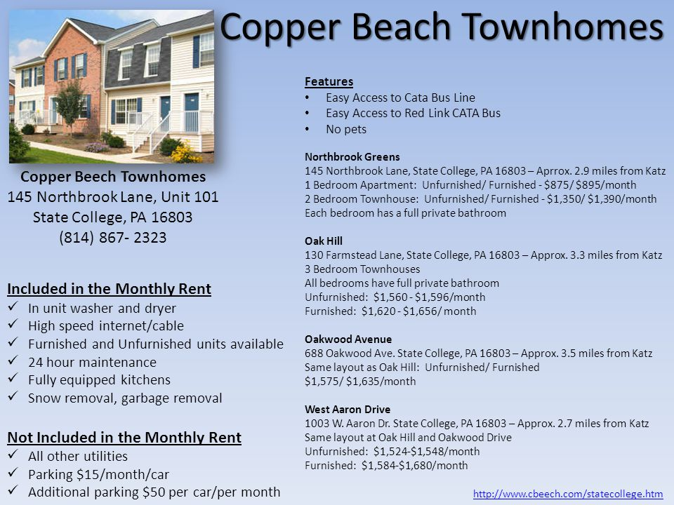 Copper Beach Townhomes