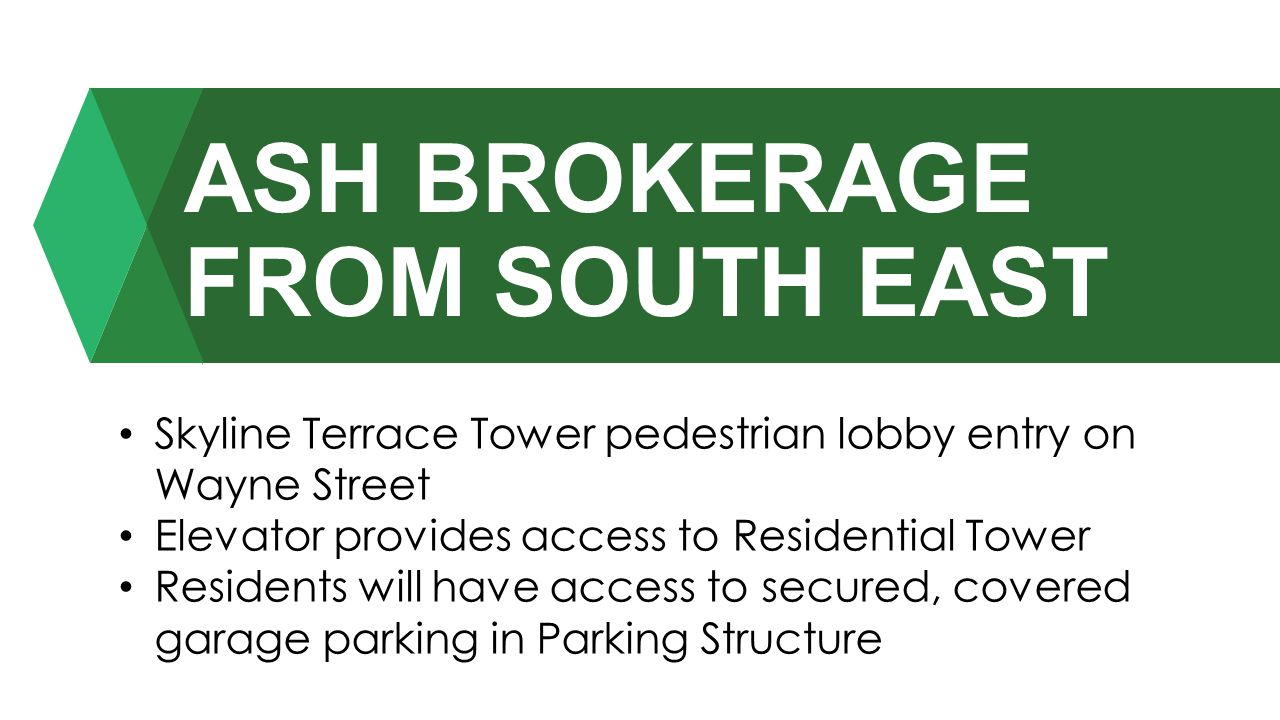 ASH BROKERAGE FROM SOUTH EAST