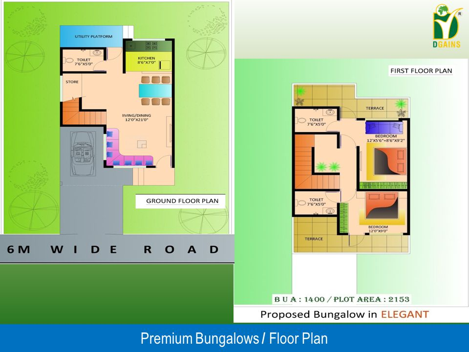 Premium Bungalows / Floor Plan