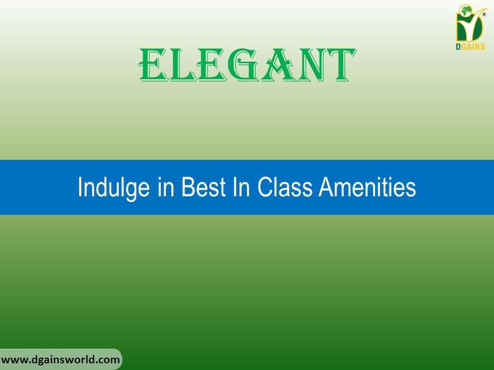 Indulge in Best In Class Amenities