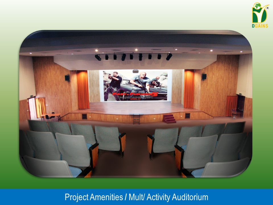 Project Amenities / Mult/ Activity Auditorium