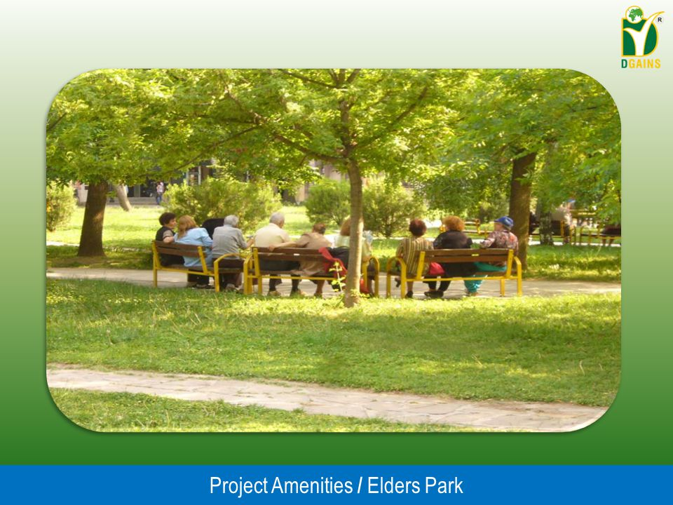 Project Amenities / Elders Park