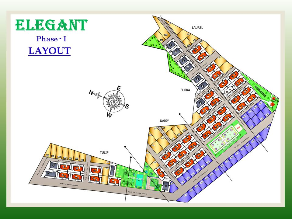 Elegant Phase - I LAYOUT