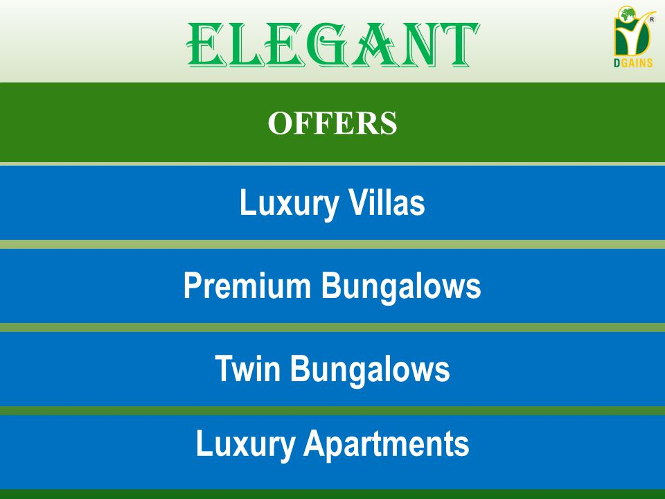 Elegant Luxury Villas Premium Bungalows Twin Bungalows