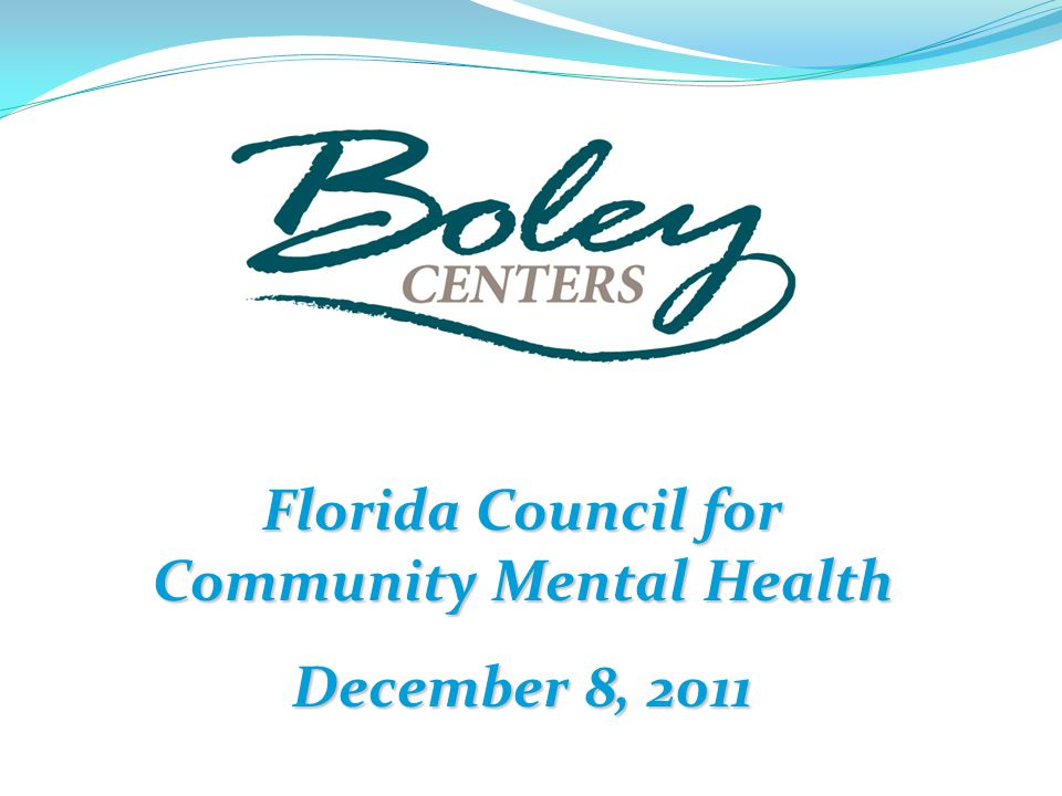 Florida Council for Community Mental Health