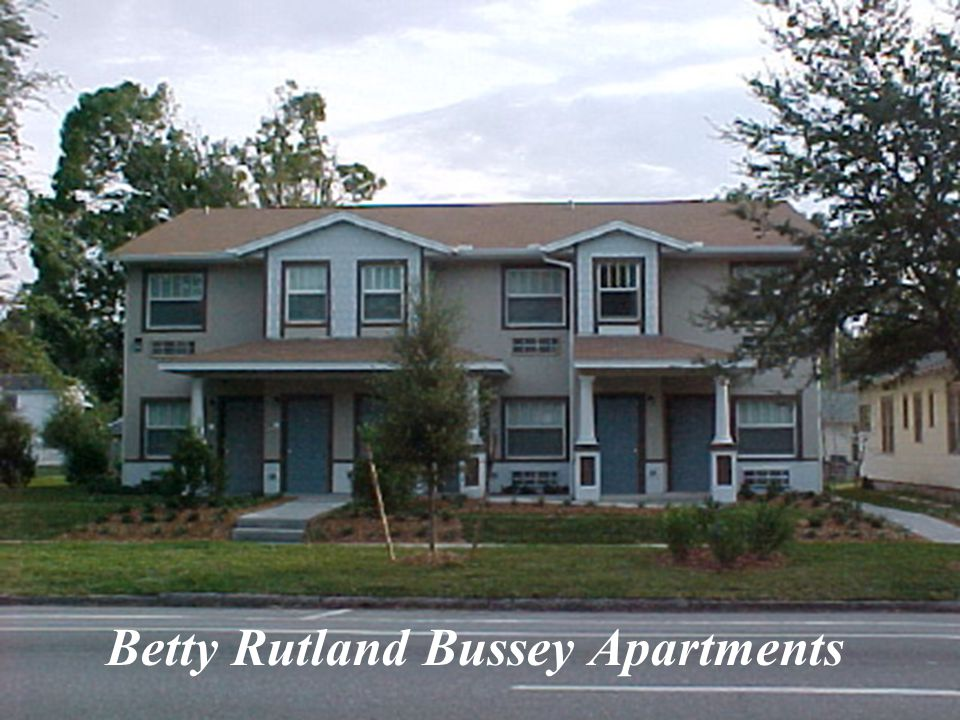 Betty Rutland Bussey Apartments