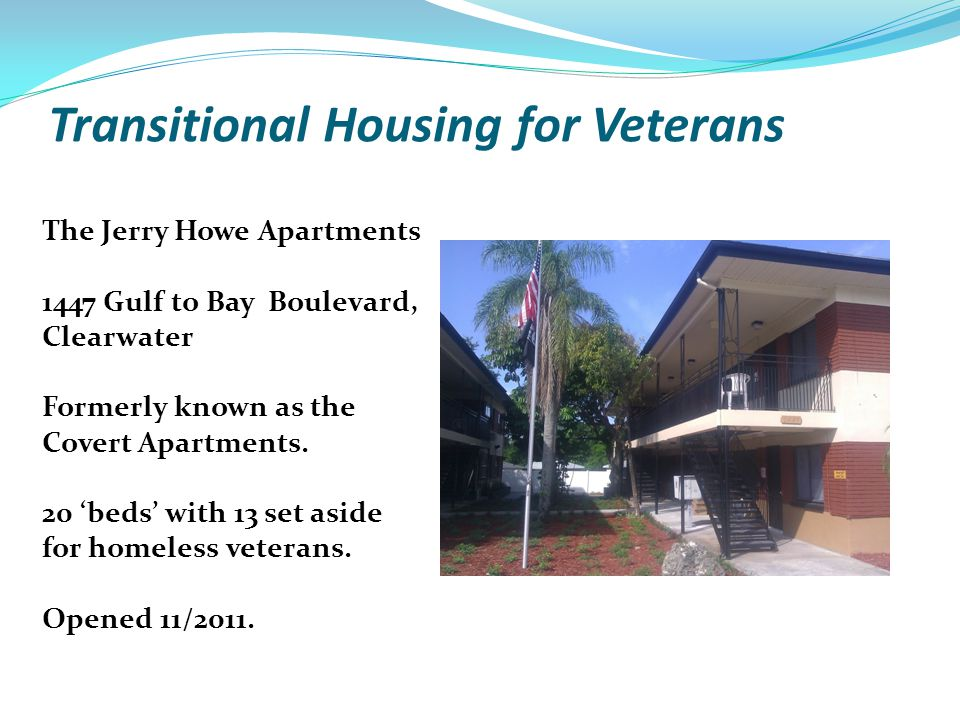 Transitional Housing for Veterans