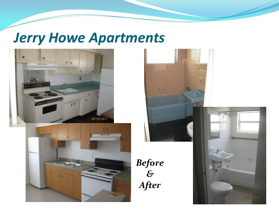 Jerry Howe Apartments Before & After