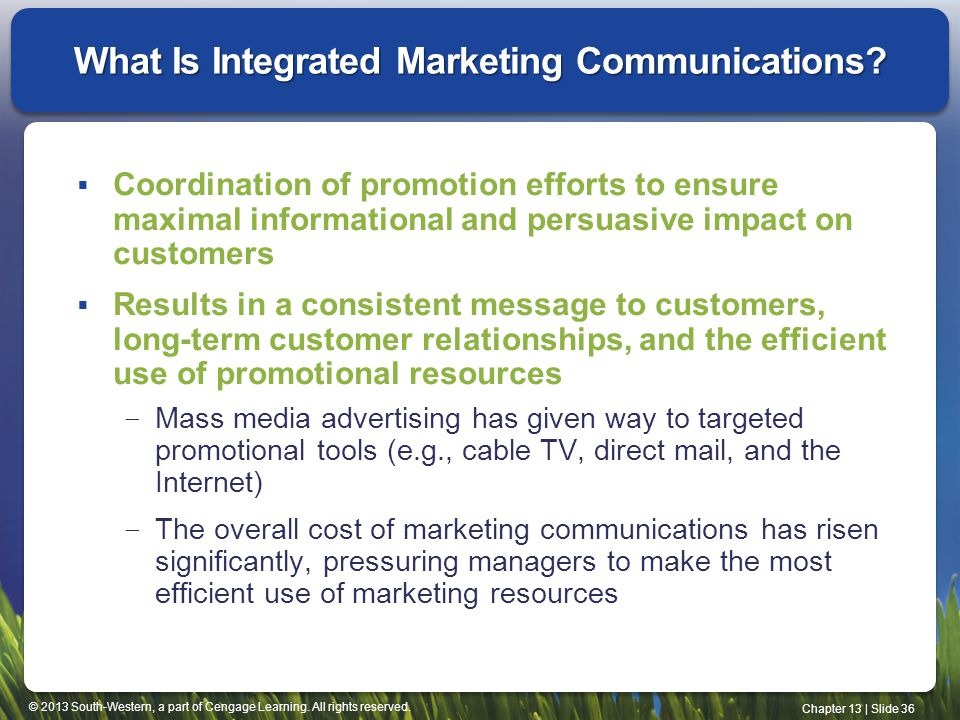 What Is Integrated Marketing Communications