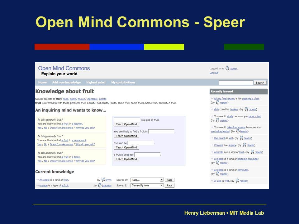 Open Mind Commons - Speer
