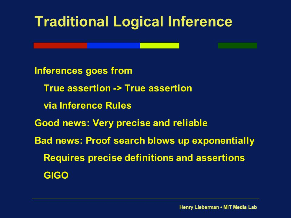 Traditional Logical Inference