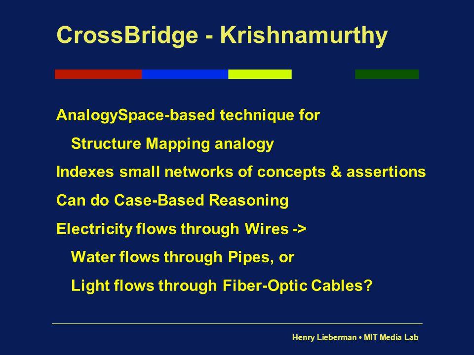 CrossBridge - Krishnamurthy
