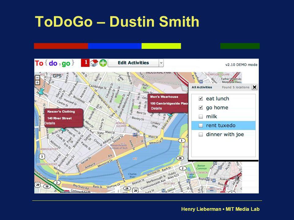 ToDoGo – Dustin Smith Yow!