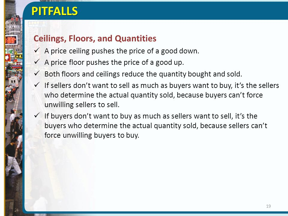 PITFALLS Ceilings, Floors, and Quantities