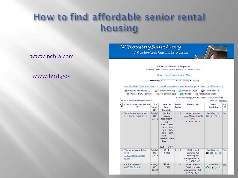 How to find affordable senior rental housing