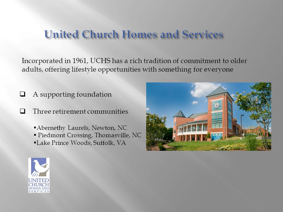 United Church Homes and Services