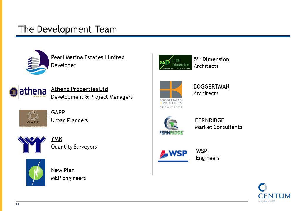 The Development Team Pearl Marina Estates Limited 5th Dimension