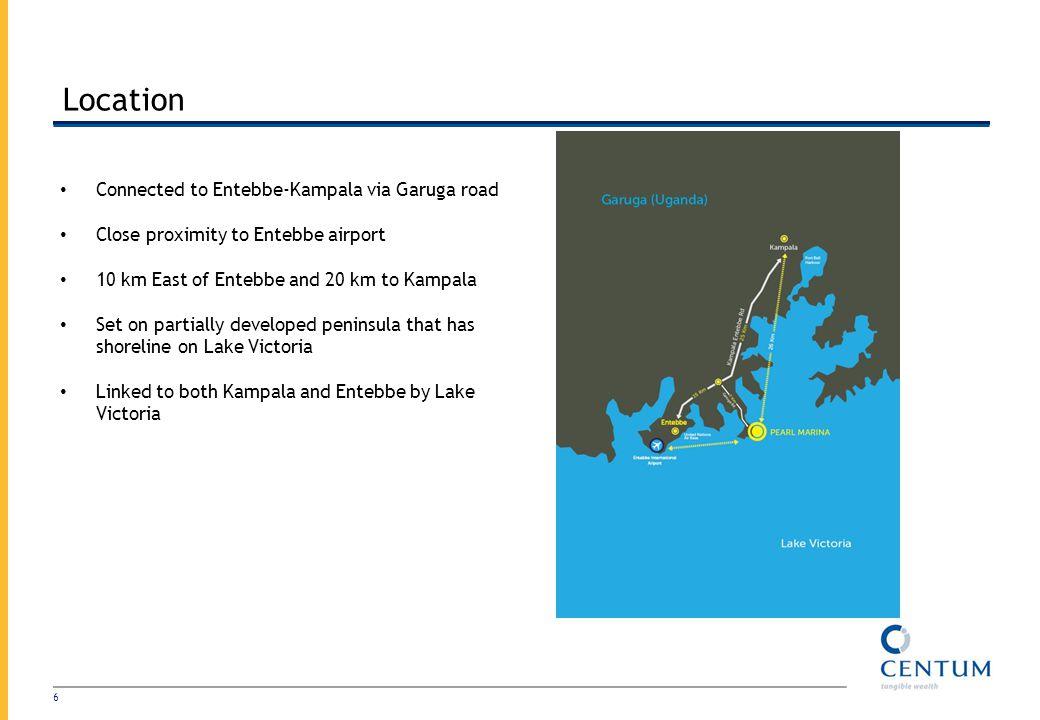 Location Connected to Entebbe-Kampala via Garuga road