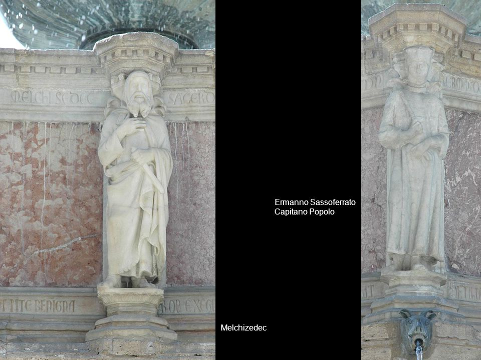 Ermanno Sassoferrato Capitano Popolo Melchizedec