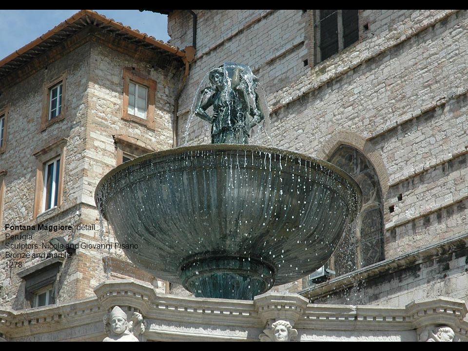 Fontana Maggiore, detail