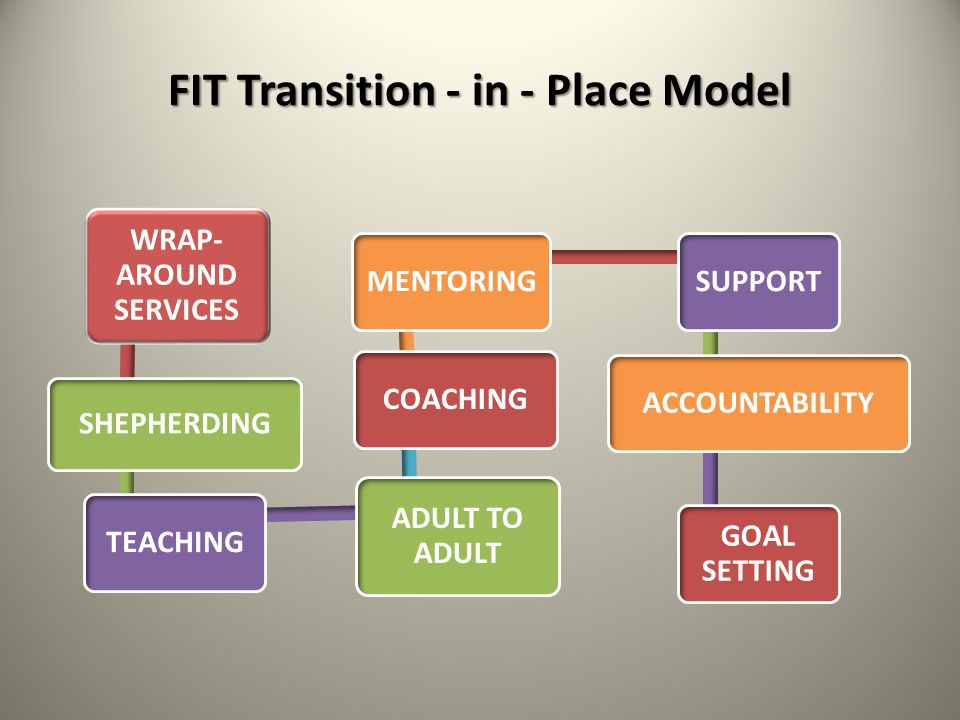 FIT Transition - in - Place Model