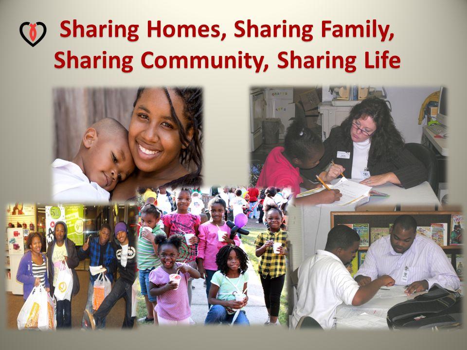 Sharing Homes, Sharing Family, Sharing Community, Sharing Life