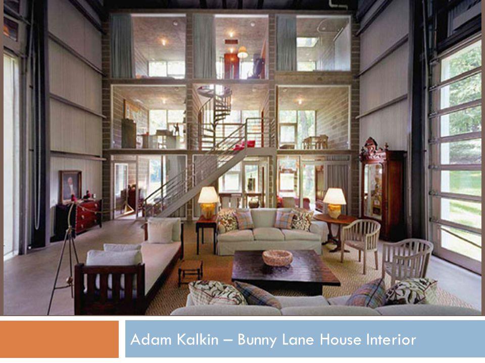 Adam Kalkin – Bunny Lane House Interior