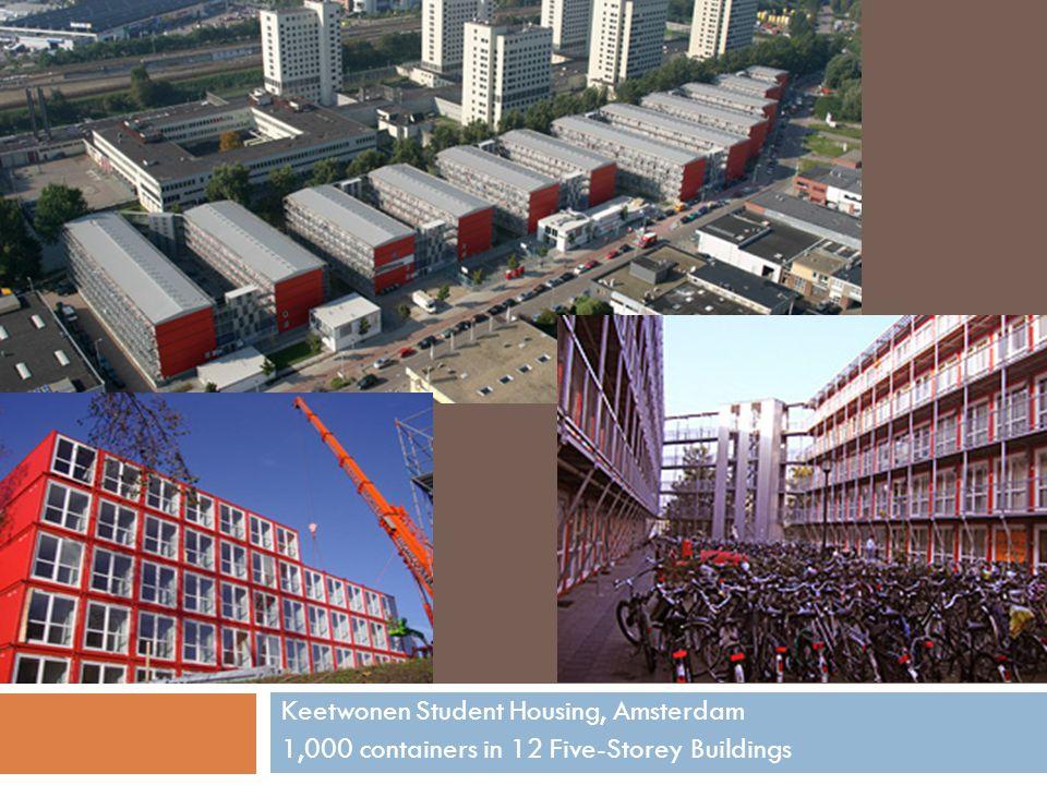 Keetwonen Student Housing, Amsterdam