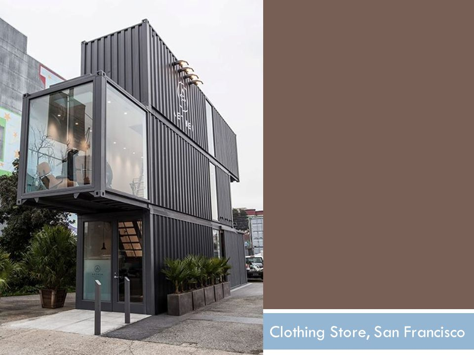 Clothing Store, San Francisco