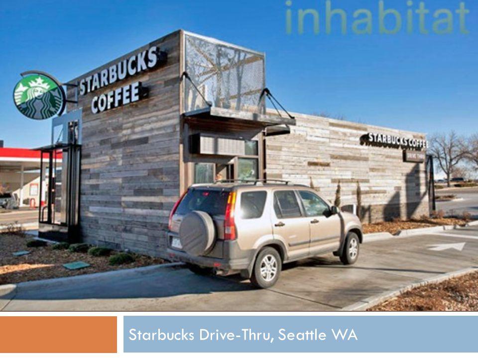 Starbucks Drive-Thru, Seattle WA