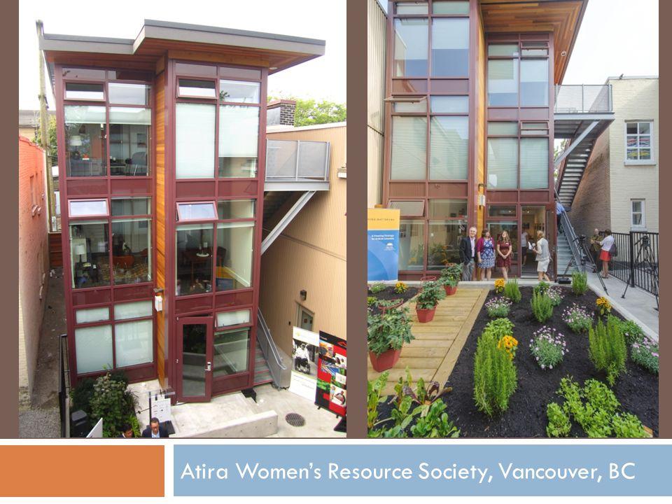 Atira Women's Resource Society, Vancouver, BC