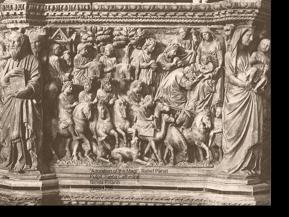 Adoration of the Magi , Relief Panel