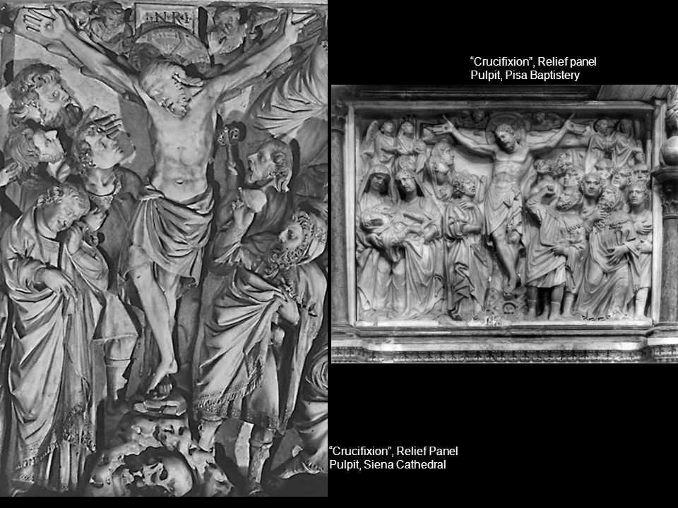 Crucifixion , Relief panel