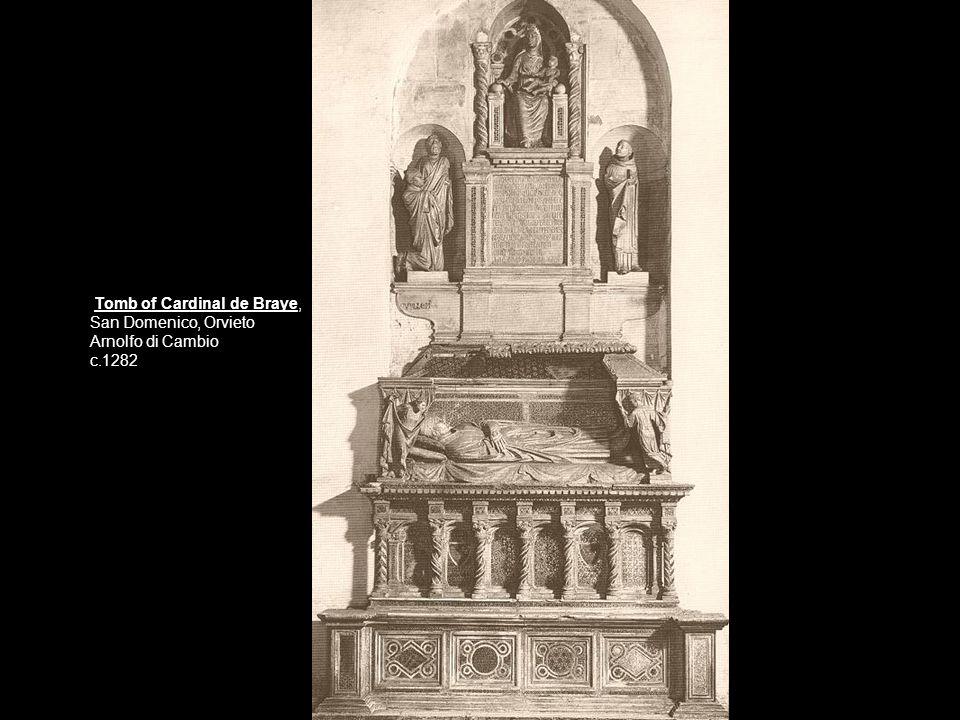 Tomb of Cardinal de Braye,