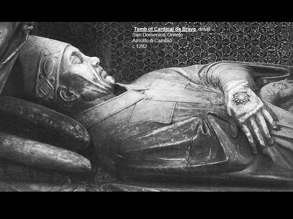 Tomb of Cardinal de Braye, detail