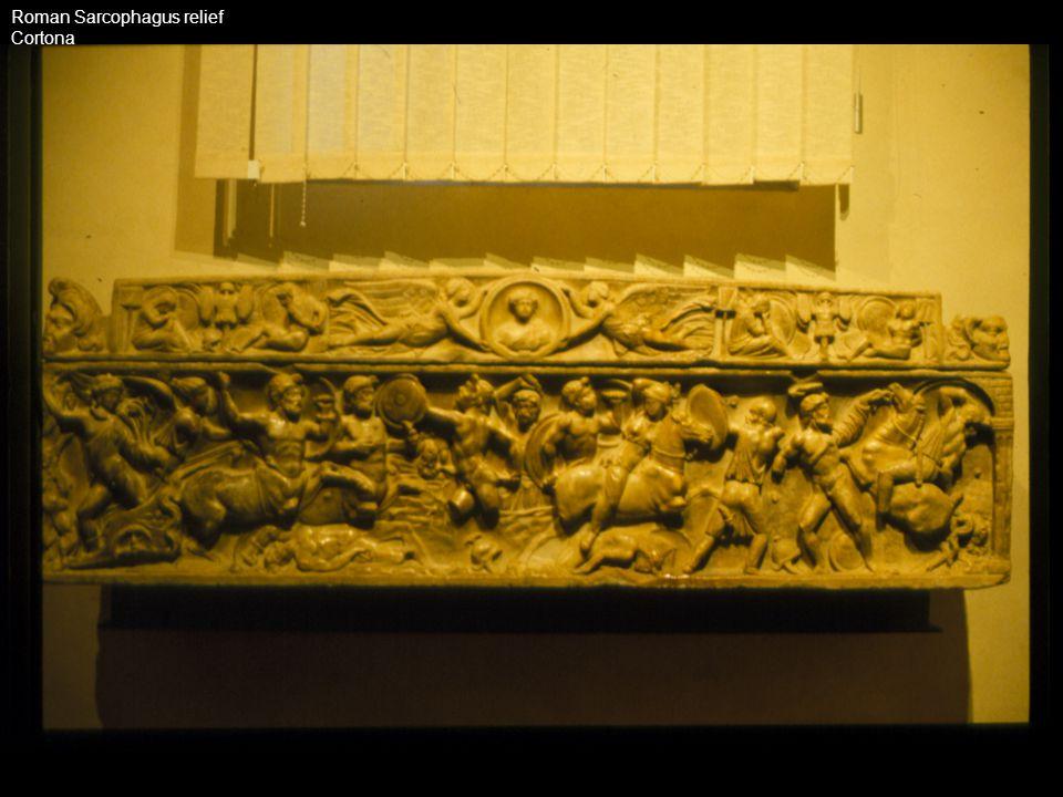 Roman Sarcophagus relief
