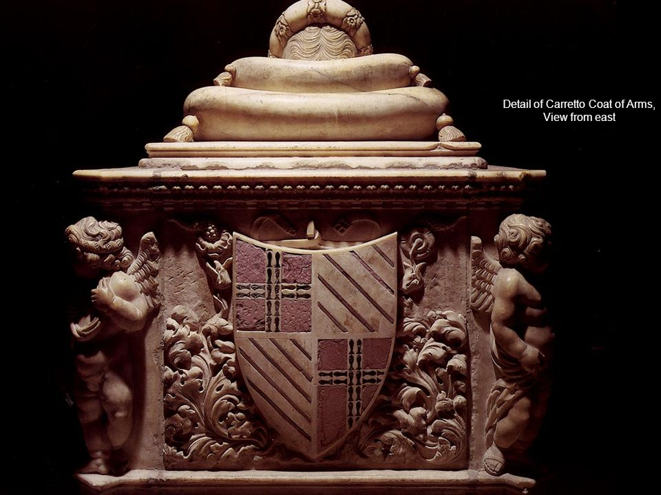 Detail of Carretto Coat of Arms,