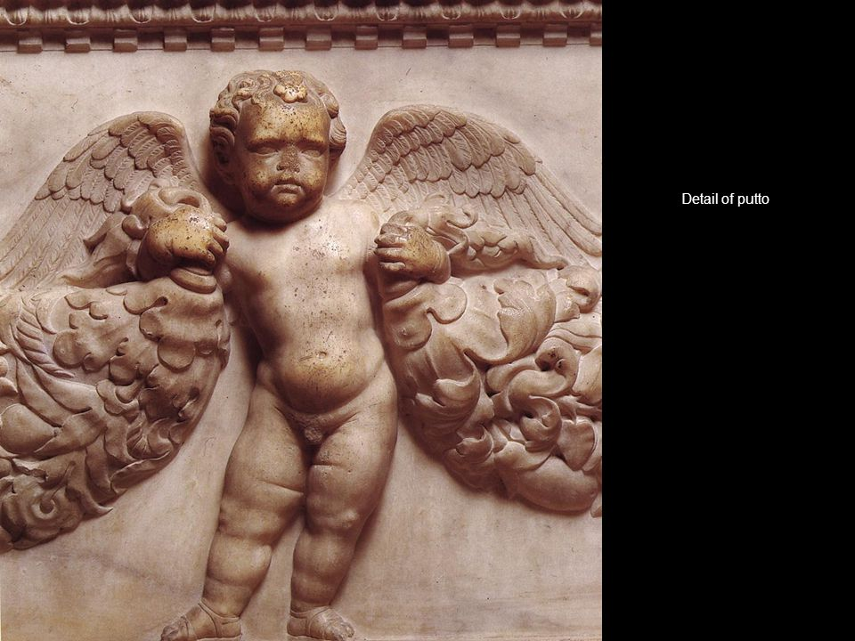 Detail of putto