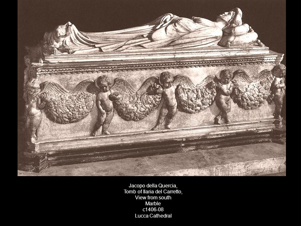 Tomb of Ilaria del Carretto,